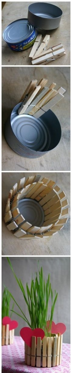 New life for old things: Useful crafts of cans