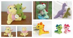 patrones de dinosaurios amigurumis gratis en inglés