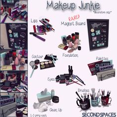 thearcadesl: Second Spaces - Makeup Junkie