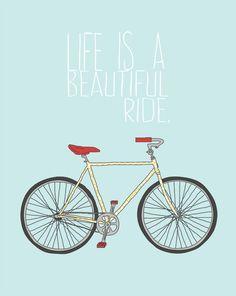 Style It Like You Stole It; Free art prints Bike wall art print by I Rock So What