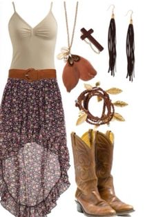 Country girl outfit:)