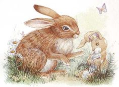 Vintage Velveteen Rabbit illustration - would love a printable of this for Easter.