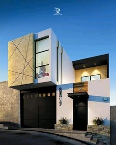 Tiny home designs ideas. Now, enable's discover 20 outstanding minimalist houses design, every one as fascinating in addition to inspiring as the adhering to. Modern Exterior House Designs, Modern House Facades, Modern Architecture House, Exterior Design, Architecture Layout, Duplex House Design, House Front Design, Small House Design, Best Modern House Design