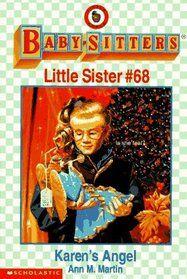 """A children's Christmas novel: #68: """"Karen's Angel"""""""