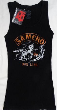 c10edcc209a Sons of Anarchy SOA Charging Reaper Junior Girls Ribbed Tank Top Shirt L  XXL  SonsOfAnarchy