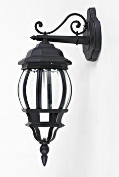 Fancy Wandleuchte Gartenlampe antik Wandlampe Au enleuchte IP Leuchte Lampe BTR Manchester BTS schwarz Amazon de
