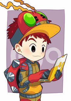 Digimon Adventure: Koushiro (Izzy) Cosplay Tentomon