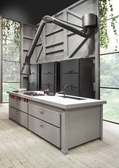Schön Kitchen Cabinet With Oven With Refrigerator COLONNINA MINÀ Objects  Collection By Minacciolo | Design R