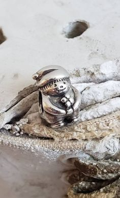 Authentic Pandora Gnome Charm Sterling Hallmarked 925 ALE For the Special Gardner/ Green Thumb Passion Pre-Loved Item# 790416 RETIRED To BFF Pandora Dog Charm, Pandora Charms, Pandora Anniversary Charm, Pandora Birthday Charms, Gnome Mobile, Pandora Leather, Pandora Collection, 7 Dwarfs, Floating Charms