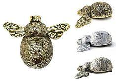 Brass-Chrome-amp-Nickel-Bee-Door-Knocker-antique-vintage-style-animal-knockers