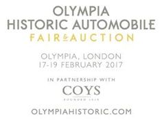 Experience a Weekend of Luxury at the Olympia Historic Automobile Fair & Auction