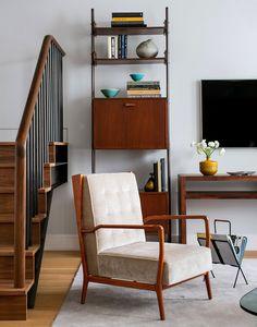 Двухуровневая квартира для семьи с тремя детьми в Нью-Йорке