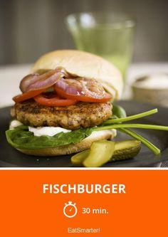 Fischburger - smarter - Zeit: 30 Min. | eatsmarter.de