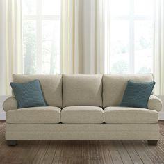 HGTV® HOME Custom Upholstered Large Great Room Sofa by Bassett Furniture