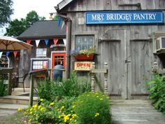 Mrs. Bridge's Pantry is located at 292 Route 169, South Woodstock, Connecticut 06267