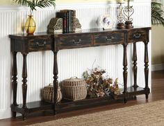 Coast to Coast Collection - British Colonial-inspired sideboards and cottage-chic cabinets to carved secretary desks and vibrant painted accent chests, this handsome array is brimming with heirloom-worthy appeal.