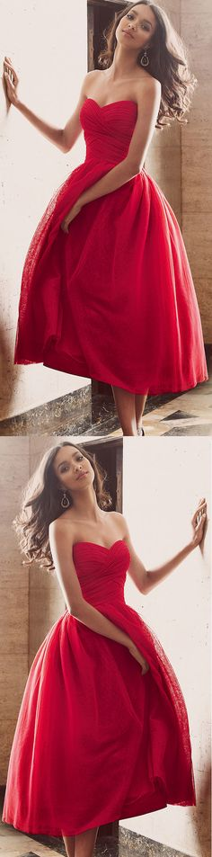 Red Prom Dresses, Short Prom Dresses, Sexy Prom dresses, Prom Dresses Short, Short Red Prom Dresses, Short Homecoming Dresses, Sexy Homecoming Dresses, Red Homecoming Dresses, Sexy Red Dresses, Sleeveless Homecoming Dresses, Pleated Prom Dresses, Ankle-length Homecoming Dresses