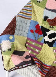 The Mystery Blanket that started it all.  I LOVE this blanket!