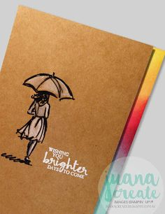 Beautiful You - Celebrate In Style... Encouragement cards. Kylie Bertucci's International Stampin' Up! Blog Highlight. Juana Create.