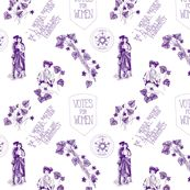A Suffragette Toile by gypsymothdesign