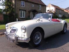 1957 MGA Roadster 1500 in Old English White For Sale