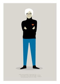 Andy Warhol Print by JudyKaufmann on Etsy, $25.00