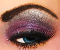 purple and sliver