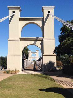 Waco, Texas suspension bridge