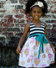 Look what I found on #zulily! Pink Air Adventures Babydoll Dress - Infant, Toddler & Girls #zulilyfinds
