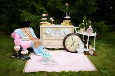 A Mad Hatter Tea Party #TeaParty #MadHatter #partyideas