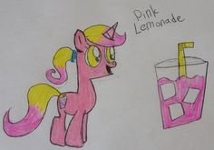 Pink Lemonade is cute and adorable filly who loves to swim on a hot day, she really love to swim with her mother Water Fall.. 20 bits to adopt.