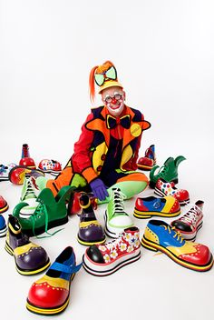 Sometimes I look in my shoe collection and this is what I see...so head to the nearest shoe selling store...