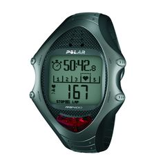 Polar RS400 Heart Rate Monitor Watch. Wrist-style heart rate monitor and stopwatch geared for active endurance athletes. With optionally available S1 footpad, take advantage of the RS400's Speed and Distance functions. One of the largest displays in the industry and a fully user-configurable exercise view. Includes Polar Protrainer 5 training, planning and analyzing software. Dual time zone, alarm with snooze, and water resistance to 50 meters.