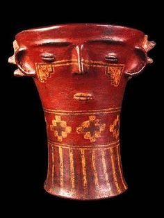 Archaeological Discoveries, Native Art, Ancient Art, Art And Architecture, South America, Primitive, Beer Stein, Color, Hairless Dog