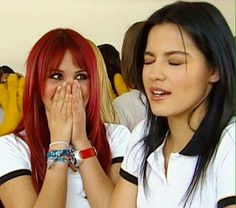 Roberta y Lupita Rebelde
