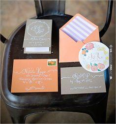 Laura Lavender Calligraphy | VIA #WEDDINGPINS.NET