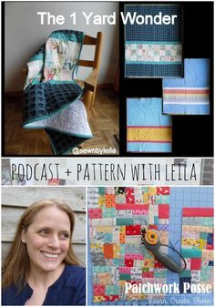 Guest Designer - Leila of Sewn by Leila - love the pattern she shared! So many possibilities with the band in there!