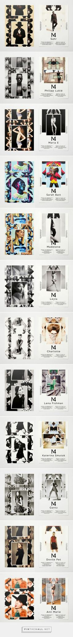 M4 Models SedCards Summer 2012 | Eps51 graphic design studio