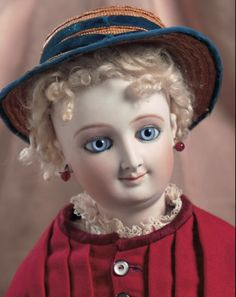 Lady Dolls of the 19th Century: 153 Doll by Leon Casimir Bru with Boutique Label