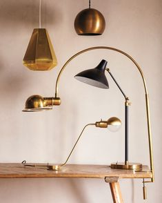 "Decorate with Brass - ""Lighting made out of brass will create a beautiful halo effect,"" says Kevin Sharkey. Consider these bright ideas for pendant, task, and floor lamps."