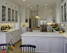 Galley Kitchen Layout With Peninsula long narrow kitchens design, pictures, remodel, decor and ideas