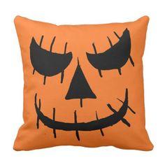 #funny - #Evil Jackolantern Face Pillow