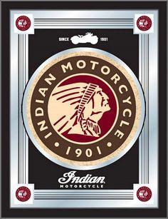 Indian Motorcycle Logo Mirror