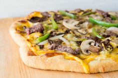 Pizza in Unexpected Places | Philly Cheese Steak Pizza