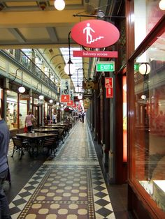 """Adelaide and Beyond': Adelaide Arcade......."