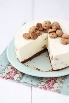 cheesecake con galletas de chips de chocOlate