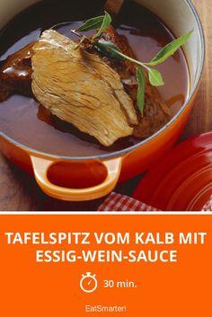 Tafelspitz vom Kalb mit Essig-Wein-Sauce - smarter - Zeit: 30 Min.   eatsmarter.de