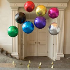 Large Round Foil Balloons - decoration