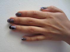 Homura Akemi inspired nails