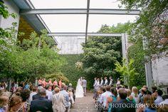 A wedding at the Atrium in Wilmington NC | Wilmington NC wedding venue